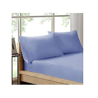 Royal Comfort Organic Cotton Sheet Set 3 Piece Luxury 250 Tc Indigo