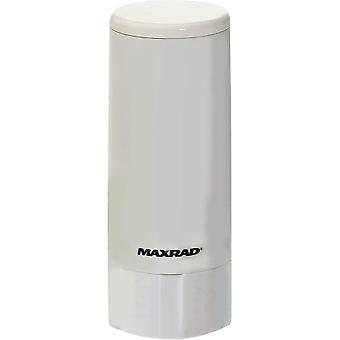 740-870 Low Profile Antenna, White/ Chrome