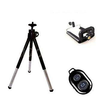 Mini Bluetooth Tripod With Remote-extendable Stand For Smartphones