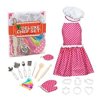Cooking Apron Chef Hat Baking Tool (22pcs Set)
