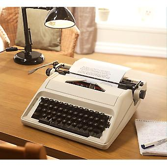 Chums Traditional Portable Manual  Typewriter with Case