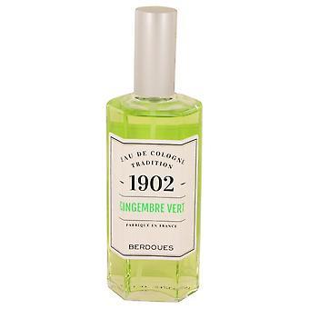 1902 Gingembre Vert Eau De Cologne Spray (unboxed) By Berdoues 4.2 oz Eau De Cologne Spray