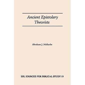 Ancient Epistolary Theorists (Sources for Biblical Study)