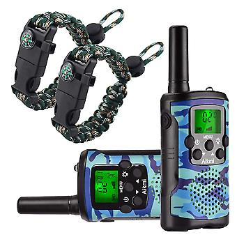 Aikmi walkie talkies for kids 8 channel 3 km long range ingenious communication gadget preventing my wof52457