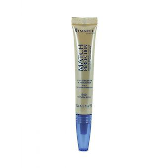 Rimmel Match Perfection 2in1 Concealer & Highlighter - 060 Natural Beige