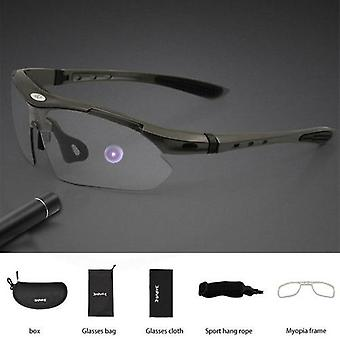 Photochromic Cycling Sunglasses Men Women Sport Road Mtb Mountain Bike