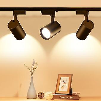 Cob Track Lamp Rail Spotlights (Sæt 1)