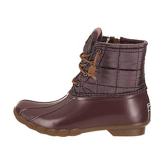 Sperry Womens saltwater Closed Toe Ankle Cold Weather Boots
