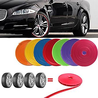 Car Wheel Protection Wheel Sticker Decorative Strip Rim Tire Protection