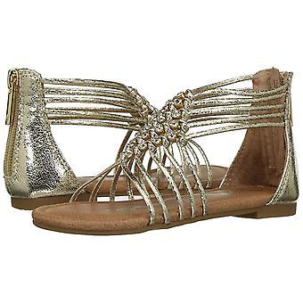 Kinderen Nina meisjes Karlee canvas rits Gladiator sandalen