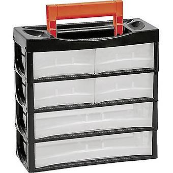 Alutec 66011 Assortment case No. of compartments: 6 1 pc(s)