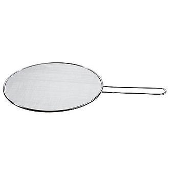 splash cover 29 cm stainless steel silver