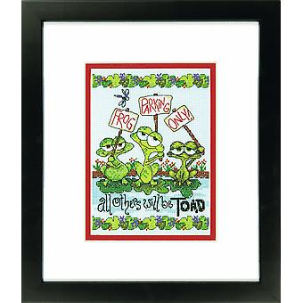 Dimensions Classic: Counted Cross Stitch: Frog Parking