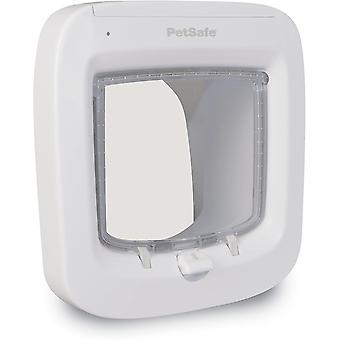 Microchip Activated Cat Flap, Exclusive Entry, Easy Install, 4-Way Manual Locking, Energy Efficient,
