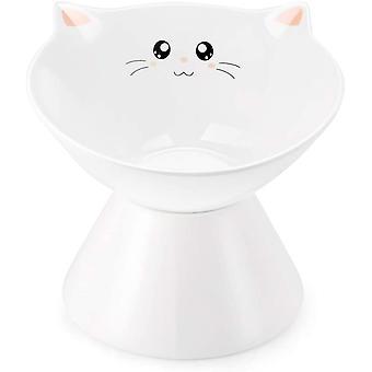 Bols de chat surélevés en céramique, nourriture ou eau élevée, sans stress