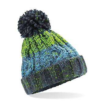 Look al aire libre chicas corkscrew Pom Pom gorro sombrero