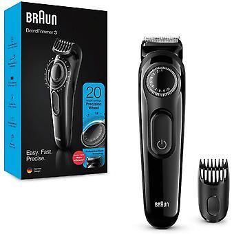FengChun BT3222 Bart und Haarschneider fr Herren, 20Lngeneinstellungen, schwarz