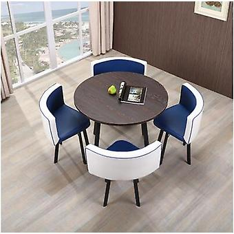 Simple Reception Table And Chair Combination