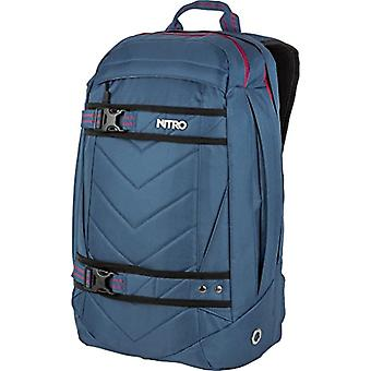 Nitro Snowboards 2018 Casual Backpack, 50 cm, 27 liters, Blue (Azul Steel)
