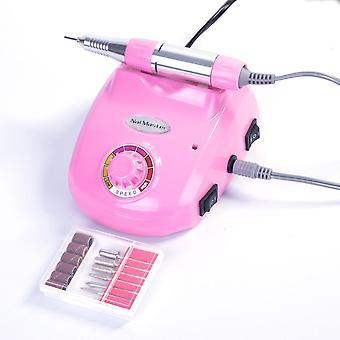 Elektrisk nagelfil - DM208 - 25000 RPM - Rosa