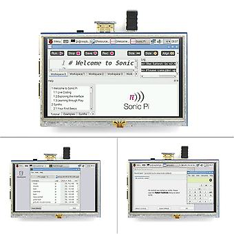 5-inch Resistive Touch Screen Lcd Display Hdmi For Raspberry Pi Xpt2046