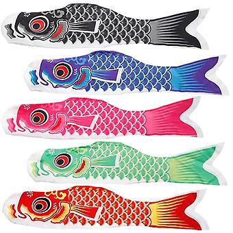 Wind Socks Colorful Fish Flag Hanging Wall Decoration