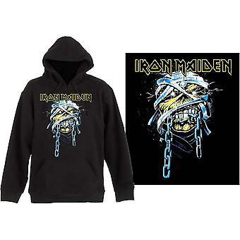 Iron Maiden - Powerslave Miesten X-Large Pullover Huppari - Musta