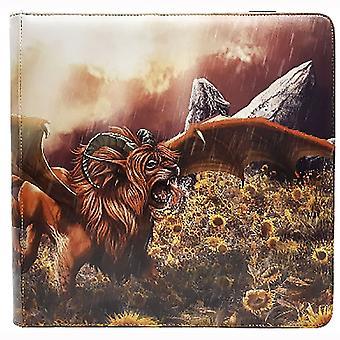 Dragon Shield Card Codex 576 Portfolio - Tangerine 'Dyrkottr'