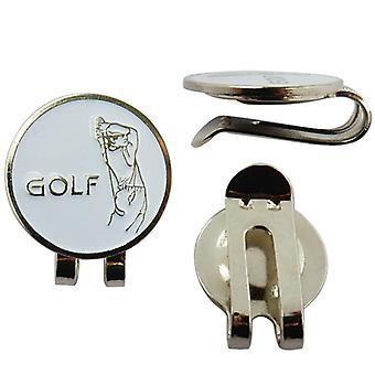 قسط لاعب غولف الرياضة قبعة كليب جولف الكرة ماركر