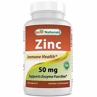Best Naturals Zinc, 240 Tabs