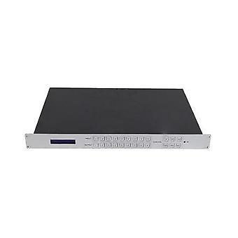 9 Entrada 9 salida video wall matrix switcher 4k hdmi tv splicing procesador 9x9 hd controlador de vídeo