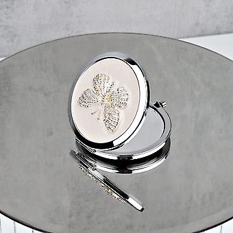 Sophia Silberplatte Nackt schmetterling kompakt Miror