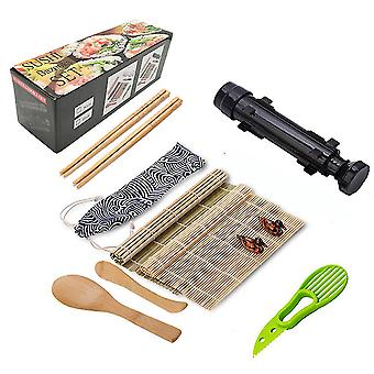 12pcs Sushi Making Kit Creative Home Use Rice Roll Sushi Maker Mold