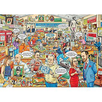 Ravensburger Best of British The Auction Jigsaw Puzzle (1000 Pieces)