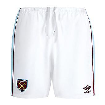 2021-2022 West Ham Home Shorts (White)