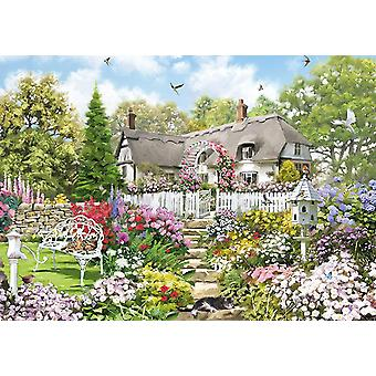 Otter House Country Cottage Jigsaw Puzzle (1000 Pieces)