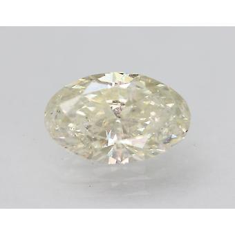 Sertifioitu 1,44 karan I väri VS2 soikea parannettu luonnollinen löysä timantti 9,75x6,27mm