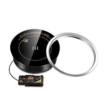 商業組み込みミニ鍋誘導調理器埋め込み800wラウンドタッチワイヤー制御1人1ポット