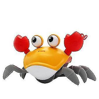 Baby Bath Toy Clockwork Crab(Orange)