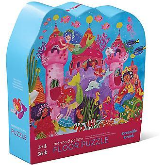 Crocodile creek - mermaid palace 36pc puzzle