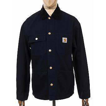 كارهارت WIP ميشيغان معطف-البحرية الظلام