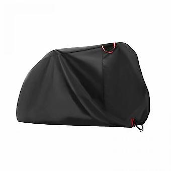 Outdoor furniture covers bike cover for 2 bikes 190t nylon waterproof bicycle cover anti dust rain uv protection for mountain