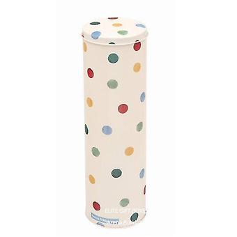 Storage tanks - polka dot extra tall spaghetti tin