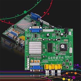 Zelená arkádová hra Rgb/cga/ega/yuv To Vga Hd Video Converter Board Gbs8200