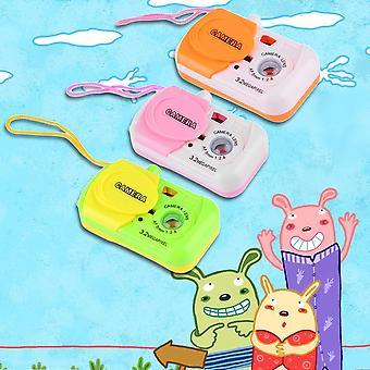 Niños portátiles Niños Bebé Estudio Cámara Forma Juguetes Plástico Niños Juguetes encantadores