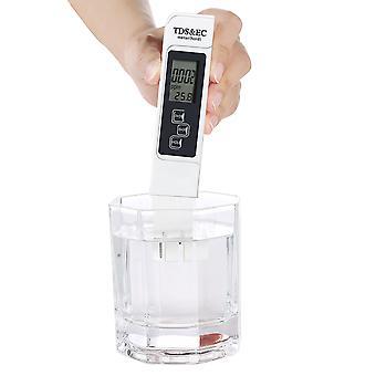 Testador de qualidade da água, medidor preciso e confiável, medidor de tds, medidor de ec e temperatura