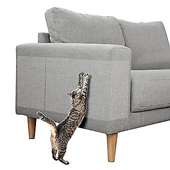 """Double Sided Scratch Furniture Protectors From Cats ?10 Pack(14"""" L 10"""" W + 14"""" L 6"""" W), Anti Cat Scratching Deterrent Tape ?cat Couch ?scratch Protect"""
