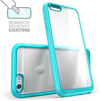 i-Blason- iphone 6, Halo Series Scratch Resistant Transparent Hybrid Case with TPU Bumper