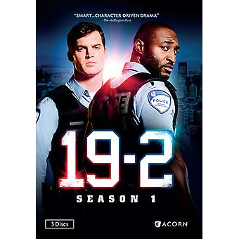 19-2: Staffel 1 [DVD] USA Import