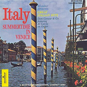 Dom Cortese & Company - Summertime in Venice: Great Italian Hits [CD] USA import